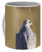 White Gyrfalcon Coffee Mug