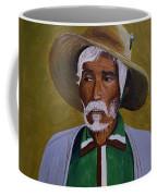 White Haired Man - 2d Coffee Mug