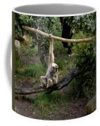 White Handed Gibbon 1 Coffee Mug