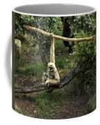 White Handed Gibbon 2 Coffee Mug