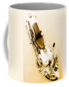 White Harley Davidson Coffee Mug