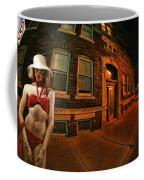 White Hat Street Coffee Mug
