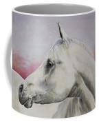 White Horse- Arabian Coffee Mug
