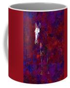 White Horse White Horse  Coffee Mug