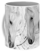 White Horses No 01 Coffee Mug