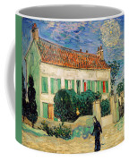 White House At Night Coffee Mug by Vincent Van Gogh