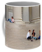 Hanging Out On Steps Coffee Mug