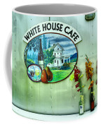 White House Cafe Coffee Mug