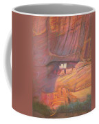 White House Rock  Home Of He Anasazi He Anasazi Coffee Mug