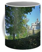 White House With Hillside Shade Coffee Mug