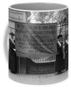 White House: Suffragettes Coffee Mug