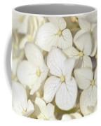 White Hydrangea Coffee Mug