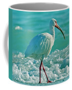 White Ibis Paradise Coffee Mug