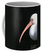 White Ibis Profile Coffee Mug