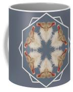 White Ibis Snowflake Coffee Mug