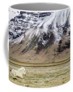 White Icelandic Horse Coffee Mug