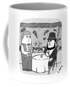 White Lobster Coffee Mug