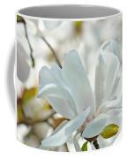 White Magnolia Tree Flower Art Prints Magnolias Baslee Troutman Coffee Mug