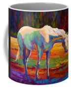 White Mare II Coffee Mug