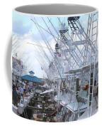 White Marlin Open Docks Coffee Mug