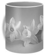 White Mini Narcissus Coffee Mug