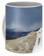 White  Mist Coffee Mug