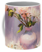 White On White Coffee Mug by Steve Henderson