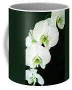 White Orchid Elegance Coffee Mug
