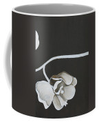 White Orchid Third Section Coffee Mug