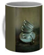 White Ornamented Teacups Coffee Mug
