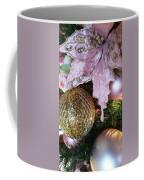 White Ornaments Holiday Card Coffee Mug