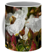 White Paper Petals Coffee Mug