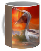 White Pelican Coffee Mug