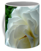 White Petals Coffee Mug