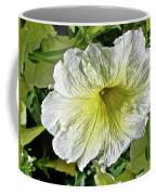 White Petunia - Solanaceae Coffee Mug
