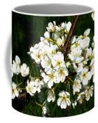 White Plum Blossoms Coffee Mug