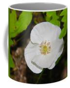 White Poppies Coffee Mug