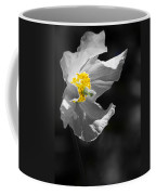 White Poppy Coffee Mug