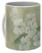 White Primula Coffee Mug