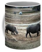 White Rhino's Coffee Mug