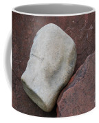 White Rock On Red Rock Number 1 Coffee Mug