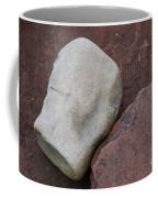 White Rock On Red Rock Number 1 Coffee Mug