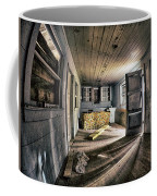 White Room, Yellow Couch, Real Estate Series Coffee Mug