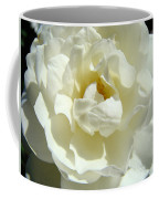 White Rose Art Prints Summer Sunlit Roses Baslee Troutman Coffee Mug