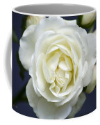 White Rose Bloom Coffee Mug