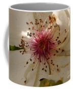 White Rose Centerpiece Coffee Mug