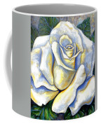 White Rose Two Coffee Mug