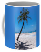 White Sand Beaches And Tropical Blue Skies Coffee Mug