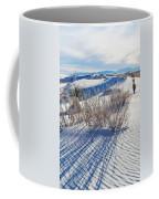 White Sands Shadows Coffee Mug