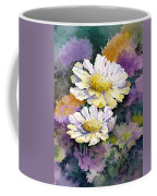 White Scabious Coffee Mug